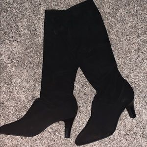 Alex Marie | suede heeled boot